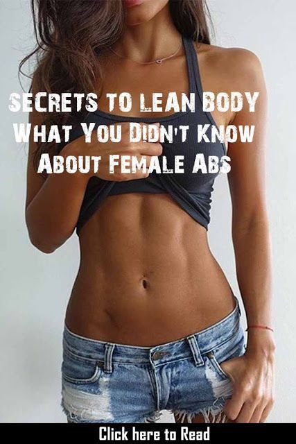 Best Exercise For Abs Female