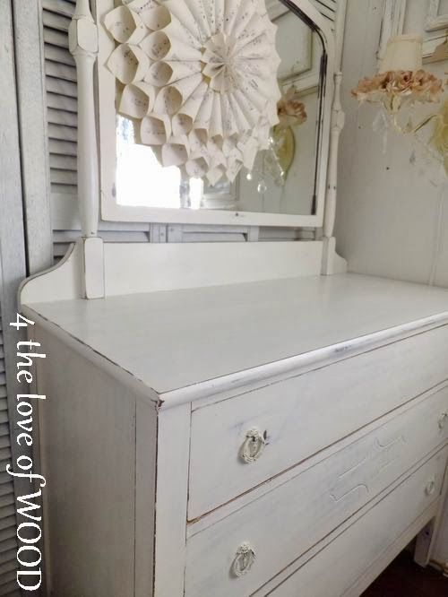 4 the love of wood  HOW TO PAINT A SHABBY CHIC DRESSER. 82 best White Painted Furniture images on Pinterest   Paint