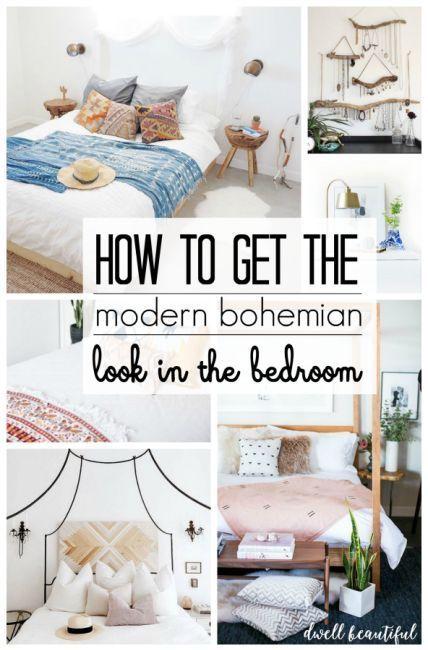 Erica Sooter Modern Bohemian Bedroom Inspiration