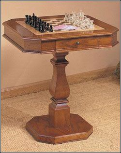 Chess Table I would like a checker table like this better though!