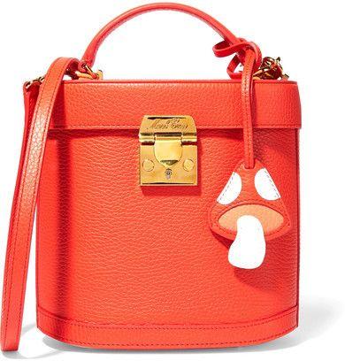 Mark Cross - Benchley Textured-leather Shoulder Bag