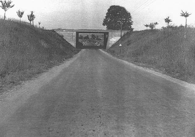 most - nyní sjezd z dálnice do Soutic