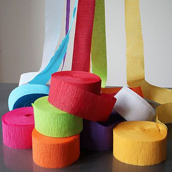 Paper streamers