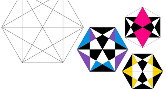 10 geometric art explorations for math learning - 630×354
