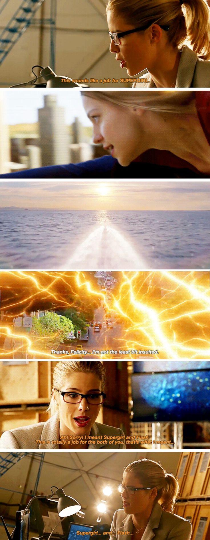 Felicity Smoak in #LegendsofTomorrow #Season2 #2x07 - Crossover Part 3!