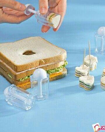 Sandwich + emporte pièce