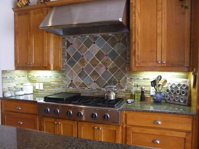 images of kitchen tile floors best 25 slate backsplash ideas on 7496