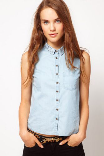 Our new go-to denim shirt