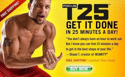 Shaun T's Focus T25 - can't wait for this to get here!!!!
