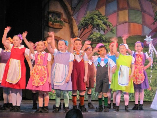 Check out these adorable munchkins from Stroudsburg High School 's musical production of The W...