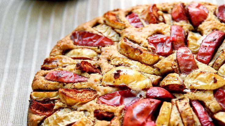 Saftig og sunn eplekake