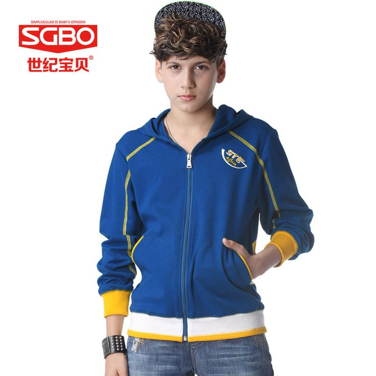 Бренд подростки мальчики мода толстовки с капюшоном для 11 12 13 14 года детей толстовки с молнии осень махровых 8C3122