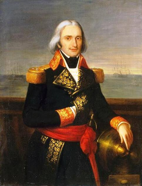 Vice-Admiral François-Paul Brueys d'Aigalliers.Commander of the French fleet during the Battle of the Nile, 1–3 August 1798.