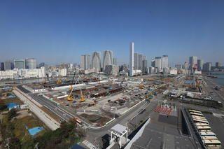 選手村の工事写真|選手村|競技会場等の整備|東京都の取組|2020年大会開催準備|東京都オリンピック・パラリンピック準備局