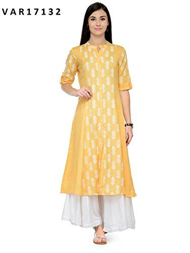 f77df113f02 Manas Store Indian Women Designer Kurta Kurti Bollywood Tunic Ethnic  Pakistani Top Crepe Kurtis Dress Tunics Cotton Tops Blouse Style Long Silk  (XL)