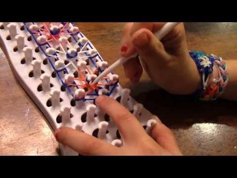 ▶ Fun Loom STARBURST Bracelet - YouTube