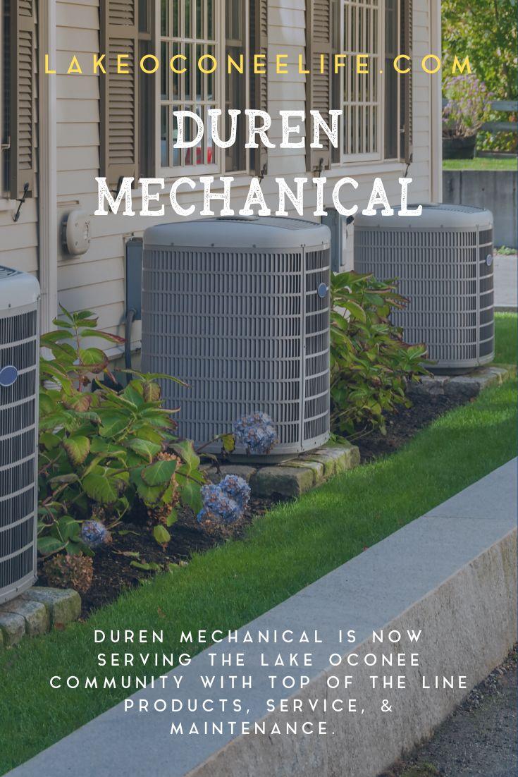 Duren Mechanical (With images) Lake oconee, Duren, Mechanic