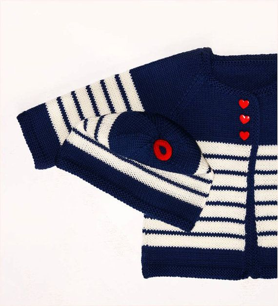 Knitted sweater / baby clothes / handmade baby by DaLuforkids