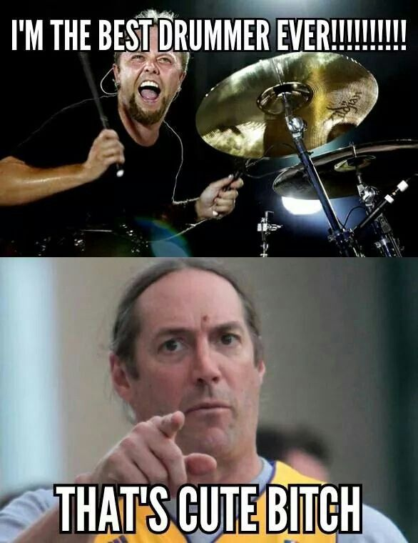 I love Lars Ulrich, and Danny Carey is one of the few drummers that can out drum him