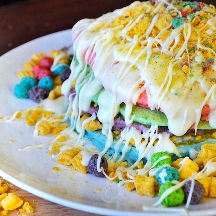 Four Words: Cap'n Crunch Berry Pancakes