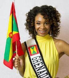 Miss Grenada in Caribbean Connection | Grenada in 2019