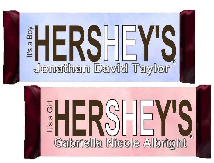 hershey wrappers