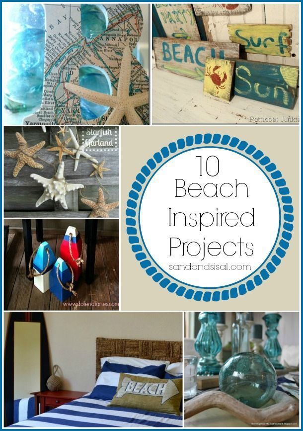 10 Beach Inspired Projects #TortugaFest http://www.tortugamusicfestival.com/