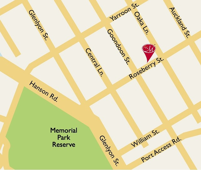 Map of Metro Hotel and Apartments Gladstone