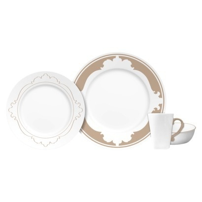 Corelle B-Frames 16 Piece Dinnerware Set  sc 1 st  Pinterest & 7 best Melamine Dinner Sets images on Pinterest | Dining sets ...