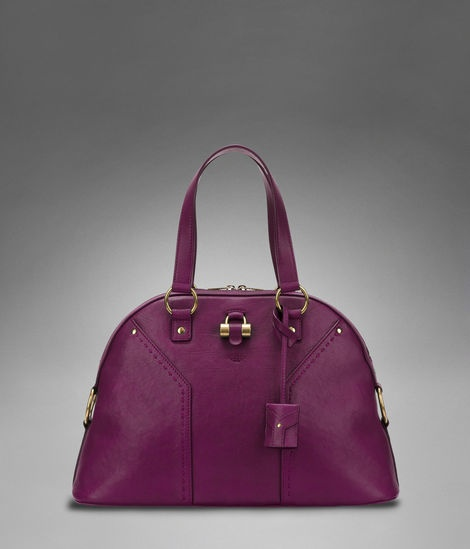 Large Ysl Muse In Dark Magenta Classic Leather At Women S Handbagsleather
