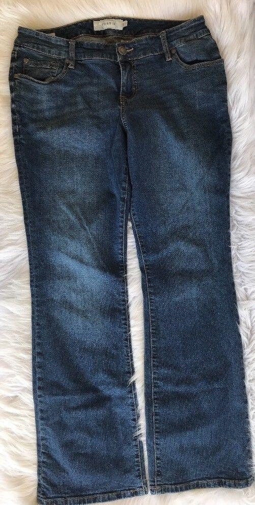 569c7dc58d Torrid Women s 12R x 32 Relaxed Boot Stretch Denim Blue Jeans Pants Medium  Wash