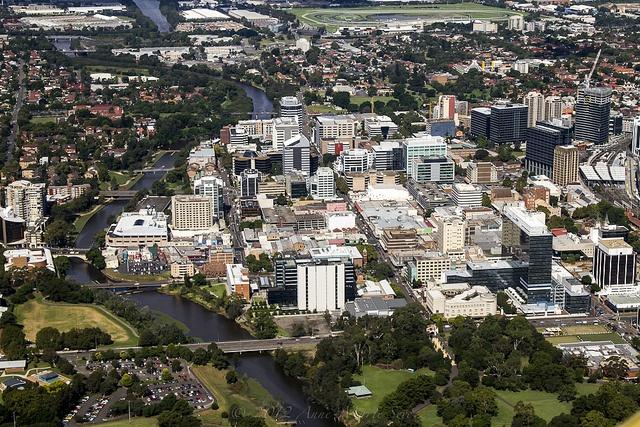 North Parramatta & the Parramatta River, Sydney, NSW