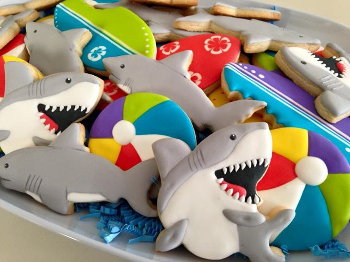 shark cookies