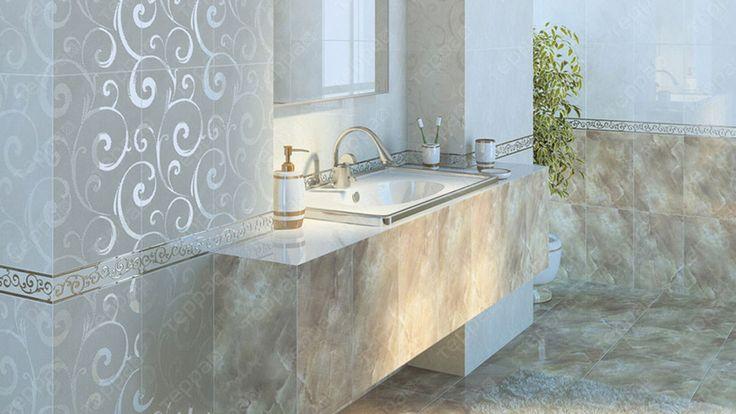 Интерьер ванной Golden Tile - Оникс