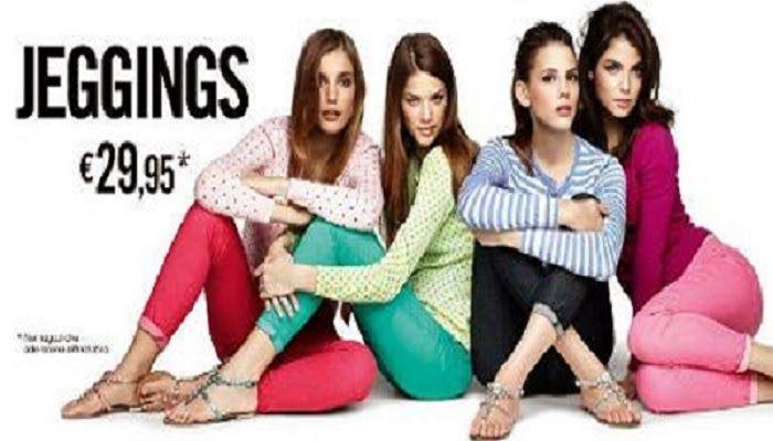 MEDIAvertigo: Jeggins Benetton: pantaloni femminili colorati per...