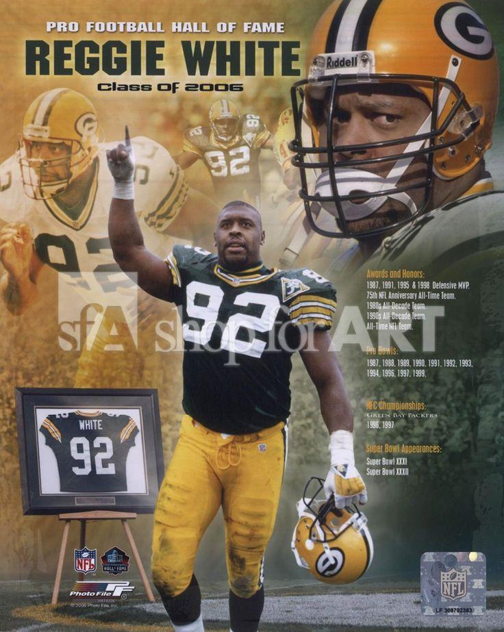 Reggie White, DE - Green Bay Packers: A Beautiful Man!