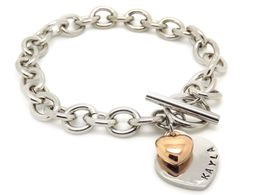 Personalised Toggle Bracelet