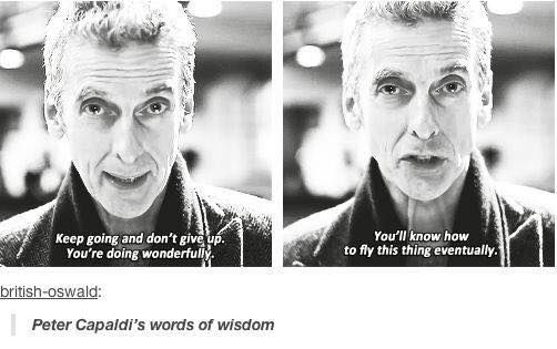 Torn because this is clearly doctor who but his words are applicable to other boards. May be double pinning this one. <3