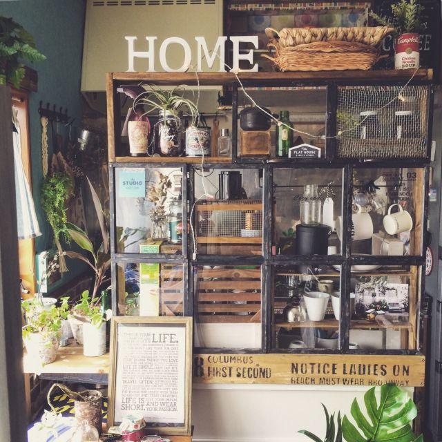 ブルックリンスタイル/IKEA/ミックススタイル/セリア/リメイク/DIY…などのインテリア実例 - 2015-06-04 08:58:30 | RoomClip(ルームクリップ)