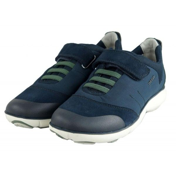 Sneaker-Nebula B.A -Ragazzo -Geox #nebula #sneaker #camoscio #blu # springsummer2017 @Geox