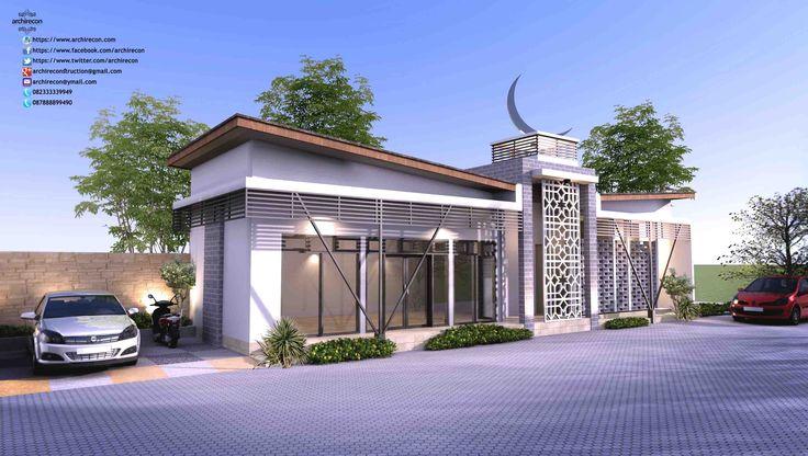 Mushola Green Land Masangan Arsitektur Islami Arsitektur Rumah Minimalis