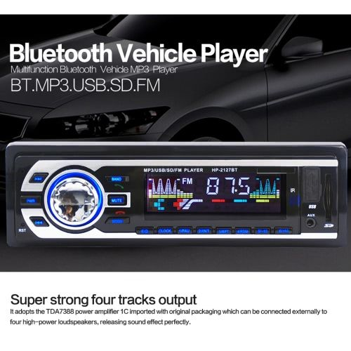 Shop best white JSD-8027BT Multifunction Stereo BT Vehicle MP3 Player Car Radio from Tomtop.com, various discounts are waiting for you.