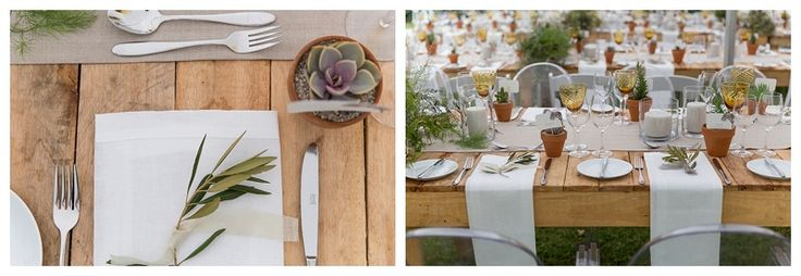 Natural place settings