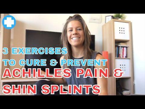 [Fix Achilles Pain and Shin Splints] 3 Exercise to Cure and Prevent Shin and Achilles Pain - YouTube