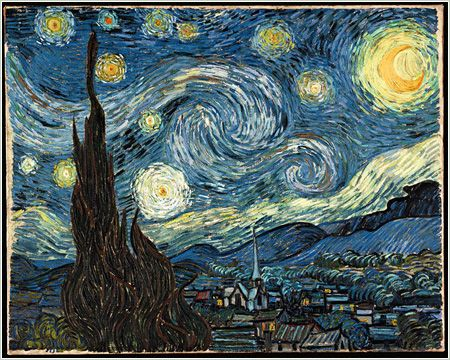 """""""The Starry Night"""" by Vincent Van Gogh"""