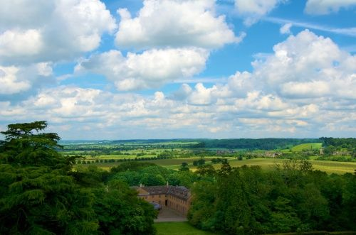 """""""View from Belvoir Castle"""" by Terry Richards at PicturesofEngland.com"""