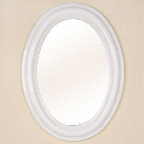 Website With Photo Gallery White Oval Bathroom Mirrors