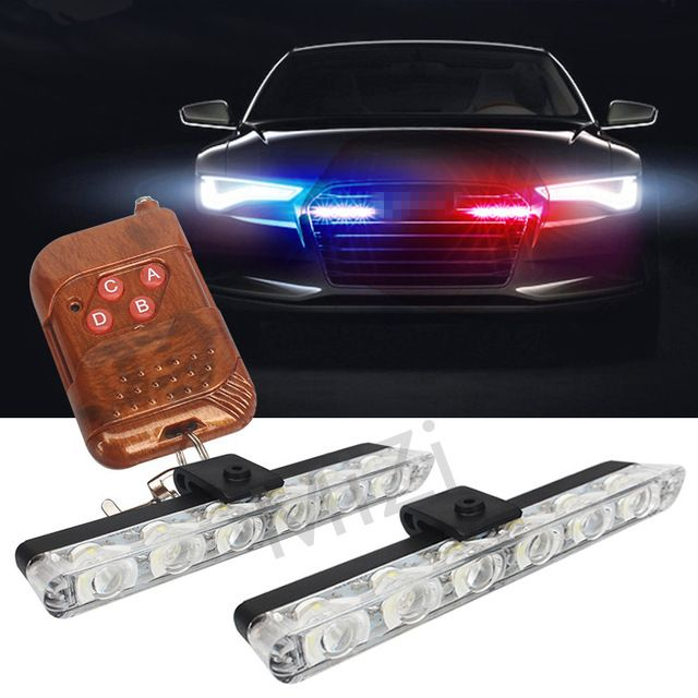 Super Bright 8 Led Work Light Torch Car Garage Flashlight: Best 25+ Police Lights Ideas On Pinterest