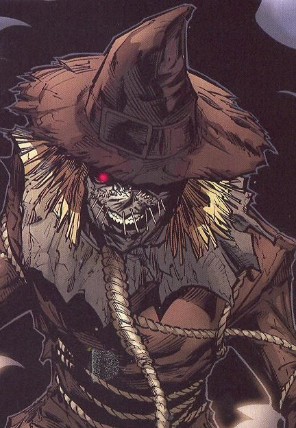 the scare crow batman | More Than Heroes: Top 10 Batman Villains