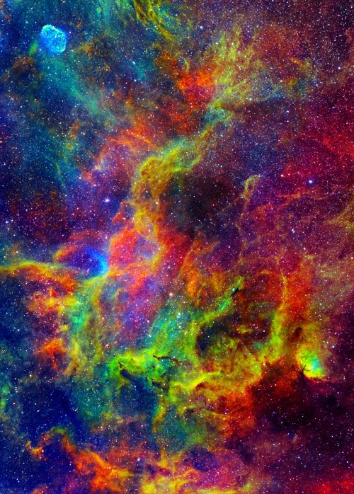 Tulip Nebula....incredible colors! Takes my breath away!